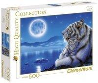 Puzzle 500 Clementoni 30279 Tygrysy