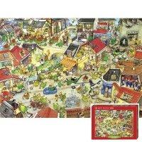 Puzzle 1000 Heye 29406 Dragontown
