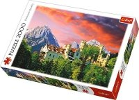 Puzzle 2000 Trefl 27053 Zamek Hohenschwangau - Bawaria