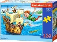 Puzzle 120 Castorland B-13432 Piotruś Pan