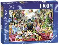 Puzzle 1000 Ravensburger 195534 Święta z Rodziną Disneya