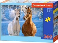 Puzzle 260 Castorland B-27378 Dwa Konie