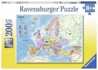Puzzle 200 Ravensburger 128372 Mapa Polityczna Europy