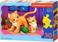 Puzzle 30 Castorland B-03709 Kotki