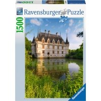 Puzzle 1500 Ravensburger 163250 Zamek Azay Le Rideau
