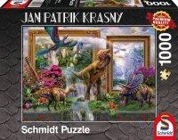 Puzzle 1000 Schmidt 59336 Jan Patrik Krasny - Dinozaury