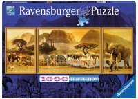 Puzzle 1000 Ravensburger 193752 Podróże po Afryce
