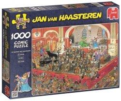 Puzzle 1000 Jumbo 17214 Jan van Haasteren - Opera