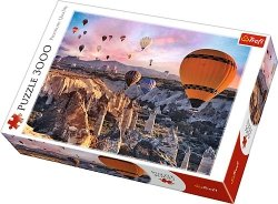 Puzzle 3000 Trefl 33059 Balony nad Kapadocją