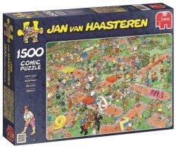 Puzzle 1500 Jumbo 17216 Turniej Golfowy - Jan van Haasteren