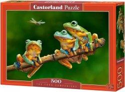 Puzzle 500 Castorland B-52301 Trzy Żabki