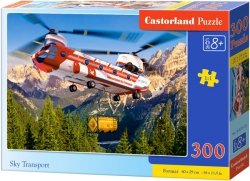 Puzzle 300 Castorland B-030125 Helikopter Transportowy