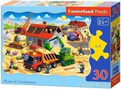 Puzzle 30 Castorland B-03686 Na Budowie