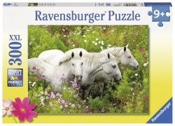 Puzzle 300 Ravensburger 132188 Białe Konie