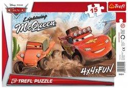 Puzzle Ramkowe 15 Trefl 31211 Auta