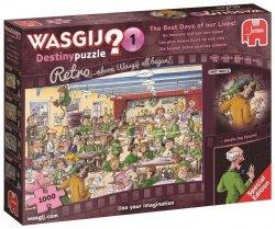 Puzzle 1000 Jumbo 19144 Wasgij Retro Destiny 1 Najlepsze Dni