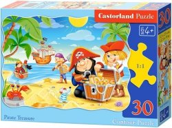 Puzzle 30 Castorland B-03488 Piraci - Wyspa Skarbów