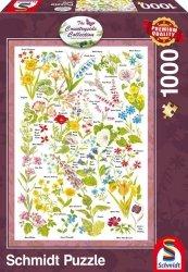 Puzzle 1000 Schmidt 59566 Countryside Art - Dzikie Kwiaty