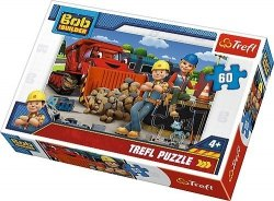 Puzzle 60 Trefl 17300 Bob Budowniczy - Bob i Wendy
