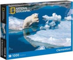 Puzzle 1000 Clementoni 39304 Niedźwiedź Polarny - National Geographic