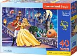 Puzzle 40 Maxi Castorland B-04254 Kopciuszek