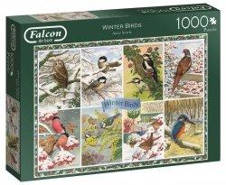 Puzzle 1000 Jumbo 11234 Falcon - Zimowe Ptaki