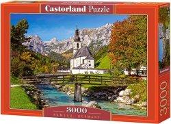 Puzzle 3000 Castorland C-300464 Kościółek - Ramsau - Niemcy