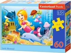 Puzzle 60 Castorland B-06854 Mała Syrenka