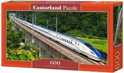 Puzzle 600 Castorland B-060146 Pociąg Pośpieszny