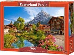 Puzzle 500 Castorland B-52363 Kandersteg - Szwajcaria