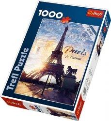 Puzzle 1000 Trefl 10394 Paryż o Świcie