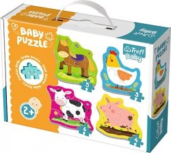 Puzzle Baby Classic Trefl T-36070 Zwierzęta na Wsi