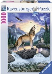 Puzzle 1000 Ravensburger 153602 Wilki