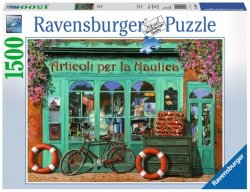 Puzzle 1500 Ravensburger 163496 Czerwony Rower