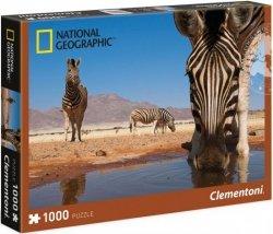 Puzzle 1000 Clementoni 39356 National Geographic - Zebry