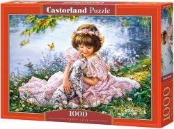 Puzzle 1000 Castorland C-103249 Dziewczynka z Psem