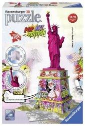 Puzzle 3D 108 Ravensburger 125975 Statua Wolności - Pop Art