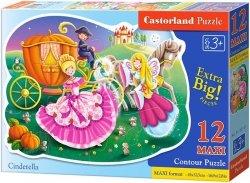 Puzzle 12 Maxi Castorland B-120147 Księżniczka
