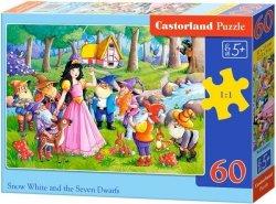 Puzzle 60 Castorland B-066032 Królewna Śnieżka