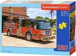 Puzzle 180 Castorland B-0183352 Wóz Strażacki