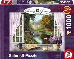 Puzzle 1000 Schmidt 59590 Dominic Davison -  Pokój z Widokiem na Strumyk