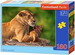 Puzzle 180 Castorland B-018246 Lwica z Młodym