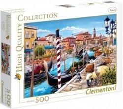 Puzzle 500 Clementoni 35026 Tanikawa - Wenecja