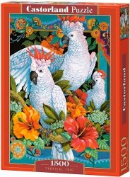 Puzzle 1500 Castorland C-151714 Papugi - Tropical Trio
