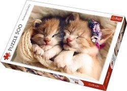 Puzzle 500 Trefl 37271 Śpiące Kotki
