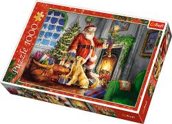 Puzzle 1000 Trefl 10495 Mikołaj - Czas Prezentów
