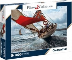Puzzle 1000 Clementoni 39389 Plisson Collection - Żaglowiec - Velsheda