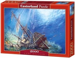 Puzzle 2000 Castorland C-200252 Sunk Galleon