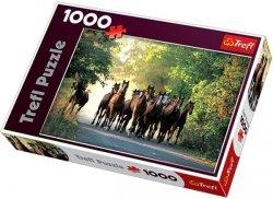 Puzzle 1000 Trefl 10168 Ogiery pełnej krwi angielskiej, Stadnina Koni Widzów, Polska
