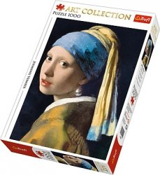 Puzzle 1000 Trefl 10522 Art Collection - Dziewczyna z Perłą